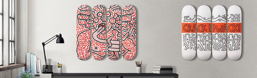 Keith Haring: Man and Medusa & Crack is Wack